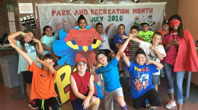 Youth & Teens 'Move & Groove' at this year's #pbcParks Summer Camp!