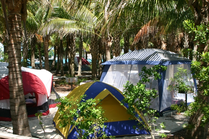 Camping in #pbcParks