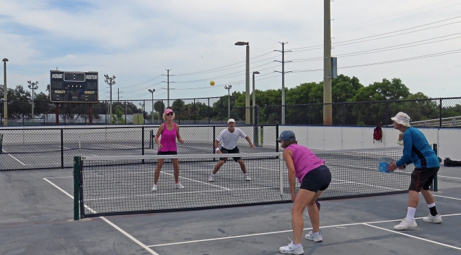 Pickleball boom: bringing players of all ages together at Caloosa Park