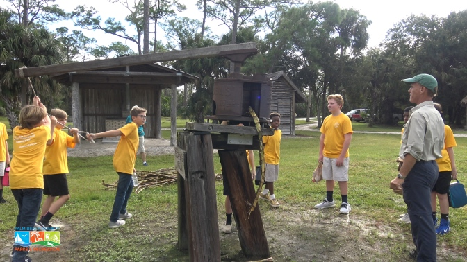 "Students learn about ""Old Time Florida"" at Riverbend Education Day"